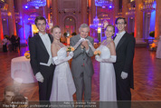 PK zum Silvesterball - Hofburg - Mi 15.10.2014 - Thomas SCH�FER-ELMAYER mit Tanzpaaren16