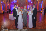PK zum Silvesterball - Hofburg - Mi 15.10.2014 - Thomas SCH�FER-ELMAYER mit Tanzpaaren17