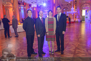 PK zum Silvesterball - Hofburg - Mi 15.10.2014 - Lukas GAUDERNACK, Juliette MARS, Vinzenz PRAXMARER, FISCHERAUER30
