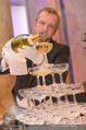 PK zum Silvesterball - Hofburg - Mi 15.10.2014 - Sektpyramide wird eingeschenkt42