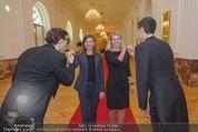 PK zum Silvesterball - Hofburg - Mi 15.10.2014 - Alexandra KASZAY, Sabrina WEBER71