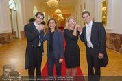 PK zum Silvesterball - Hofburg - Mi 15.10.2014 - Alexandra KASZAY, Sabrina WEBER72