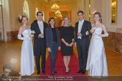 PK zum Silvesterball - Hofburg - Mi 15.10.2014 - Alexandra KASZAY, Sabrina WEBER73