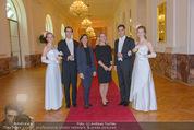 PK zum Silvesterball - Hofburg - Mi 15.10.2014 - Alexandra KASZAY, Sabrina WEBER74