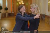 PK zum Silvesterball - Hofburg - Mi 15.10.2014 - Alexandra KASZAY, Sabrina WEBER77