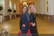 PK zum Silvesterball - Hofburg - Mi 15.10.2014 - Alexandra KASZAY, Sabrina WEBER78