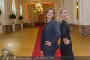 PK zum Silvesterball - Hofburg - Mi 15.10.2014 - Alexandra KASZAY, Sabrina WEBER79