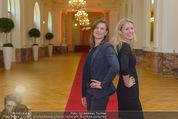 PK zum Silvesterball - Hofburg - Mi 15.10.2014 - Alexandra KASZAY, Sabrina WEBER80