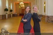 PK zum Silvesterball - Hofburg - Mi 15.10.2014 - Alexandra KASZAY, Sabrina WEBER81