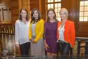 PK zur Look! Gala - Park Hyatt Hotel - Do 16.10.2014 - Sabatina JAMES, Ingrid BETANCOURT, Desiree NOSBUSCH, U FELLNER11
