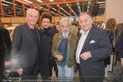 Peter Weibel Ausstellung - 21er Haus - Do 16.10.2014 - J�rgen KLAUKE, Susi WIEDL, Arnulf RAINER, Peter WEIBEL119
