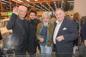 Peter Weibel Ausstellung - 21er Haus - Do 16.10.2014 - J�rgen KLAUKE, Susi WIEDL, Arnulf RAINER, Peter WEIBEL120