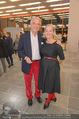 Peter Weibel Ausstellung - 21er Haus - Do 16.10.2014 - Agnes HUSSLEIN mit Ehemann Peter HUSSLEIN139