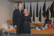 Peter Weibel Ausstellung - 21er Haus - Do 16.10.2014 - Roberto LHOTKA, Agnes HUSSLEIN23