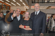 Peter Weibel Ausstellung - 21er Haus - Do 16.10.2014 - Peter NOEVER, Agnes HUSSLEIN, Thomas KRENS46