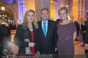 Zepter - Junge Köche - Palais Ferstel - Di 21.10.2014 - Andr� RUPPRECHTER mit Ehefrau Christine, Martina HOHENLOHE50