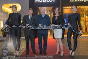 Store Opening - Hublot Boutique - Mi 22.10.2014 - Jean-Claude BIVER, Hermann und Katharina GMEINER-WAGNER1