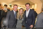 Store Opening - Hublot Boutique - Mi 22.10.2014 - Hermann GMEINER-WAGNER, Andrea BOCAN mit Ehemann Thomas140