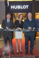 Store Opening - Hublot Boutique - Mi 22.10.2014 - Jean-Claude BIVER, Hermann und Katharina GMEINER-WAGNER3