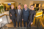 Store Opening - Hublot Boutique - Mi 22.10.2014 - Jean-Claude BIVER, Hermann GMEINER-WAGNER mit Models36