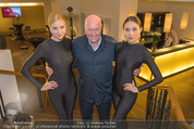 Store Opening - Hublot Boutique - Mi 22.10.2014 - Jean-Claude BIVER mit Models5