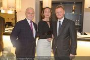 Store Opening - Hublot Boutique - Mi 22.10.2014 - Wolfgang ROSAM, Hermann und Katharina GMEINER-WAGNER69