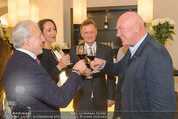 Store Opening - Hublot Boutique - Mi 22.10.2014 - Wolfgang ROSAM, Hermann u Katharina GMEINER-WAGNER, J.C. BIVER71