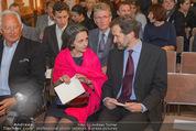 Im Lichte Monets - Belvedere - Do 23.10.2014 - Kurator Stephan KOJA mit Ehefrau11
