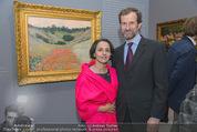 Im Lichte Monets - Belvedere - Do 23.10.2014 - Stephan KOJA mit Ehefrau112