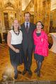 Im Lichte Monets - Belvedere - Do 23.10.2014 - Stephan KOJA mit Ehefrau, Agens HUSSLEIN50