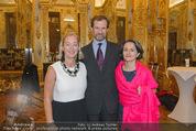 Im Lichte Monets - Belvedere - Do 23.10.2014 - Stephan KOJA mit Ehefrau, Agens HUSSLEIN51