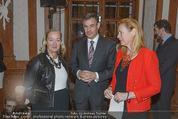 Im Lichte Monets - Belvedere - Do 23.10.2014 - Agnes HUSSLEIN, Pascal TEIXEIRA DA SILVA mit Ehefrau8