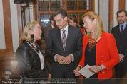 Im Lichte Monets - Belvedere - Do 23.10.2014 - Agnes HUSSLEIN, Pascal TEIXEIRA DA SILVA mit Ehefrau9