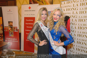 Rot Kreuz Ball PK - Park Hyatt - Mi 29.10.2014 - Valerie HUBER (Miss Earth), Vanessa HOOPER (Miss Earth Fire)35