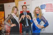 Rot Kreuz Ball PK - Park Hyatt - Mi 29.10.2014 - Valerie HUBER, Vanessa HOOPER, Ballprinz Philip41