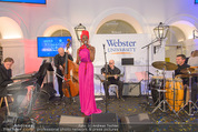 Webster University Opening - Palais Wenkheim - Mi 29.10.2014 - Doretta CARTER132
