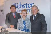 Webster University Opening - Palais Wenkheim - Mi 29.10.2014 - Gernot MITTENDORFER, Beth STROBLE, Thomas HINTZE14