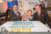 Webster University Opening - Palais Wenkheim - Mi 29.10.2014 - Julian SCHUSTER, Beth STROBLE, Arthur HIRSH144