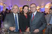 Webster University Opening - Palais Wenkheim - Mi 29.10.2014 - Hans SCHMIED mit Ehefrau Petra, Thomas HINTZE26