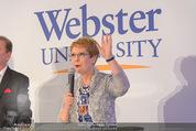 Webster University Opening - Palais Wenkheim - Mi 29.10.2014 - Beth STROBLE42