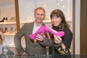 SoftStepHeels Präsentation - SoftStepHeels Store - Fr 07.11.2014 - Claudia KRISTOVIC-BINDER mit Martin2
