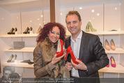 SoftStepHeels Präsentation - SoftStepHeels Store - Fr 07.11.2014 - Roman HAIDINGER, Christina LUGNER4