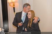 20 Jahre Dentalklinik Sievering - Hotel Bristol - Fr 07.11.2014 - Ernst WEINMANN mit Tochter Isabell32