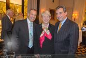 20 Jahre Dentalklinik Sievering - Hotel Bristol - Fr 07.11.2014 - Ernst WEINMANN, Maria RAUCH-KALLAT, Michael ZIMPFER45