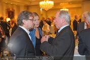 20 Jahre Dentalklinik Sievering - Hotel Bristol - Fr 07.11.2014 - Alexander WRABETZ mit Ehefrau Petra, Karl SCHRANZ50