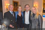 20 Jahre Dentalklinik Sievering - Hotel Bristol - Fr 07.11.2014 - Alexander WRABETZ mit Ehefrau Petra, Karl SCHRANZ, G.TAUCHHAMMER51