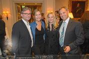 20 Jahre Dentalklinik Sievering - Hotel Bristol - Fr 07.11.2014 - Petra und Alexander WRABETZ, Ernst und Jeanne WEINMANN73