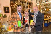Weihnachtssaison Opening - Zweigstelle - Di 11.11.2014 - Andreas BAMESBERGER, Liane SEITZ, Franz PRENNER1