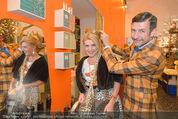 Weihnachtssaison Opening - Zweigstelle - Di 11.11.2014 - Liane SEITZ, Andreas BAMESBERGER4