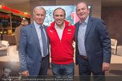 40 Jahre Puma & ÖFB - K47 - Di 11.11.2014 - Josef HICKERSBERGER, Adi NIEDERKORN, Herbert PROHASKA1